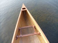 Canoe - Detail of Stern - Overwater Boats