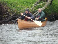 Canoe - GM 70 on the River Spey - Overwater Boats