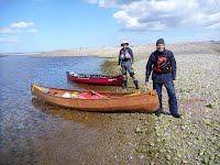 Canoe - GM 70 at Spey Bay - Overwater Boats