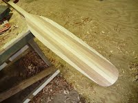 Paddle Making Course - Finished Blade - Overwater Boats