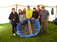 Coracle Building Course - Finished Coracle - Overwater Boats