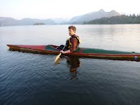 Rapide Racing Kayak on Derwentwater - Overwater Boats
