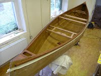 Canoe Building Course - Nearly Finished - Overwater Boats