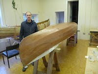 Canoe Building Course - Glassing the Hull - Overwater Boats