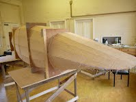 Canoe Building Course - Hull Stitched and Glued