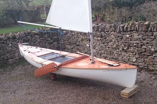 Sailing Canoe Building Course - Fulmar Sailing Canoe Rigged